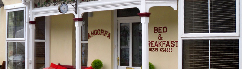 Angorfa Bed and Breakfast Front